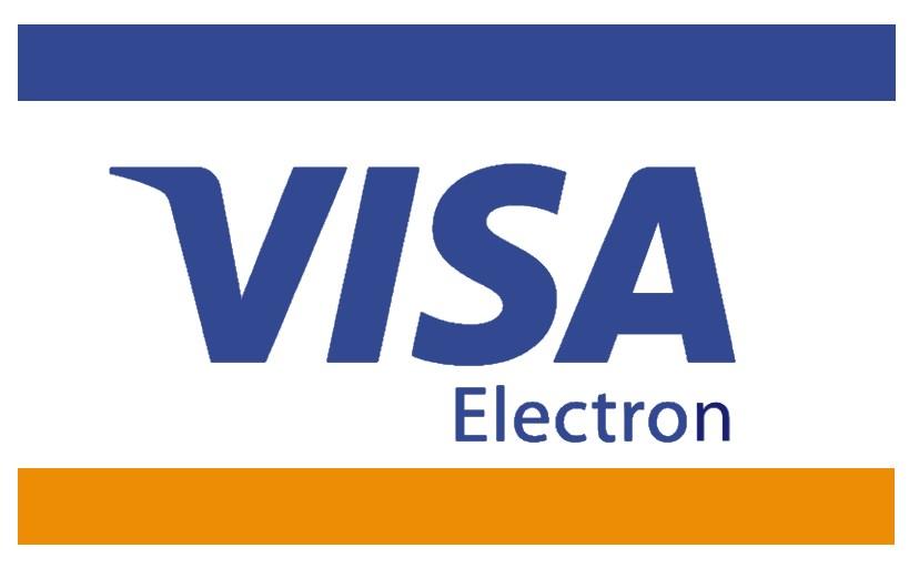Icon zur Bezahlung mit Visa Electron